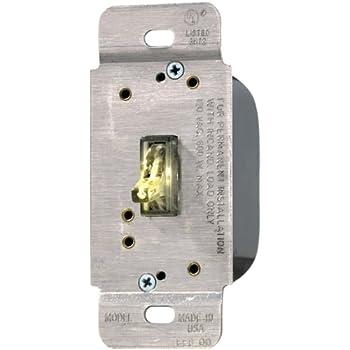 eaton wiring ti061l k single pole 3 way 600 watt lighted. Black Bedroom Furniture Sets. Home Design Ideas