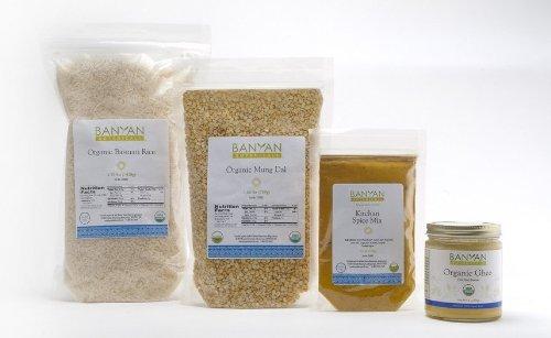 Banyan Botanicals Kitchari Kit - Basic supplies to make kitchari