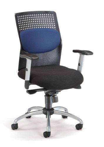OFM AirFlo Series Executive Task Chair - Ergonomic Work Chair, Blue (651-M10)