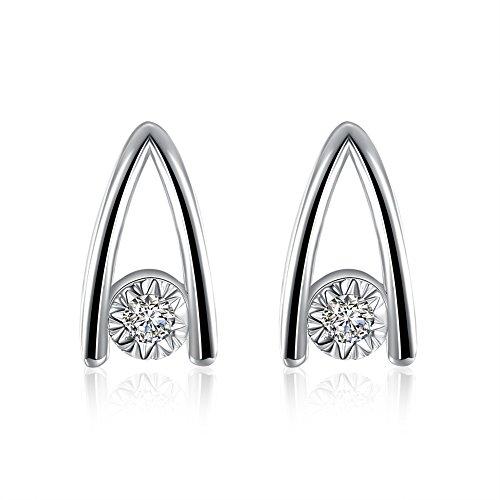 Triangle Earrings Ladies Earrings Fashion Earrings Everyday Earrings
