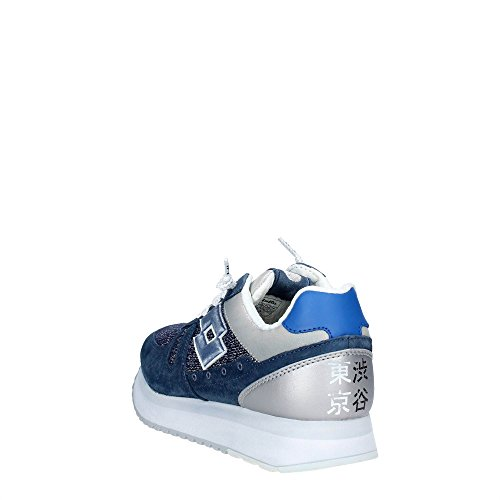 sneakers low Blue TOKYO WEDGE S8914 women LOTTO Silver W qSgW6Ewx
