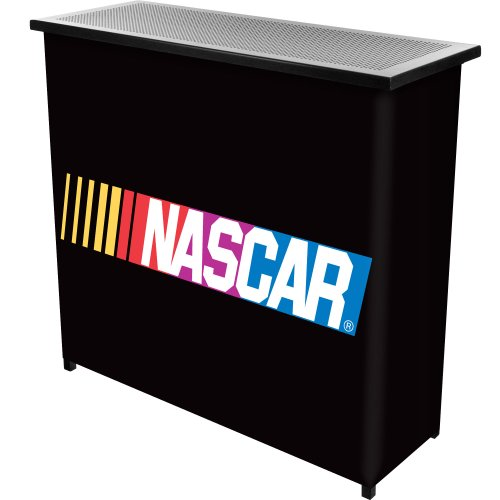 Cheap NASCAR Two Shelf Portable Bar with Case