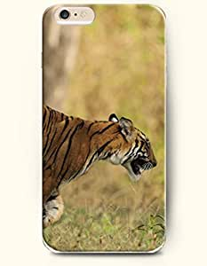 OOFIT iPhone 6 Case ( 4.7 Inches ) - Tiger Running in the Grasslands