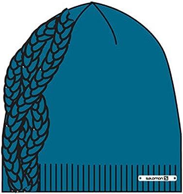 Salomon Diamond Beanie Mütze für Damen, Farbe Blau, Größe