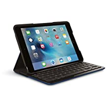 Logitech Focus Protective Case with Integrated Keyboard for iPad Mini 4, Dark Blue (920-007955)