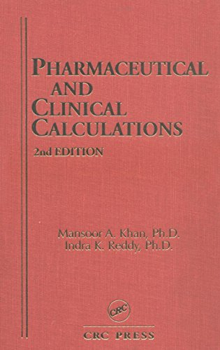 Pharmaceutical and Clinical Calculations, 2nd Edition (Pharmacy Education Series) Pdf