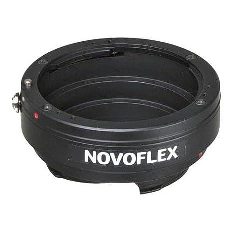 Negro Adaptador para Objetivos de c/ámaras Novoflex NEX//NIK