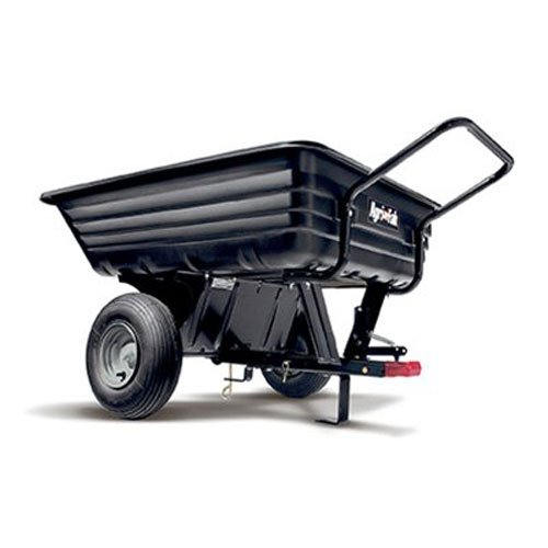 Agri-Fab 45-0345 350-Pound Poly Convertible Push/Tow Dump Cart by Agri-Fab