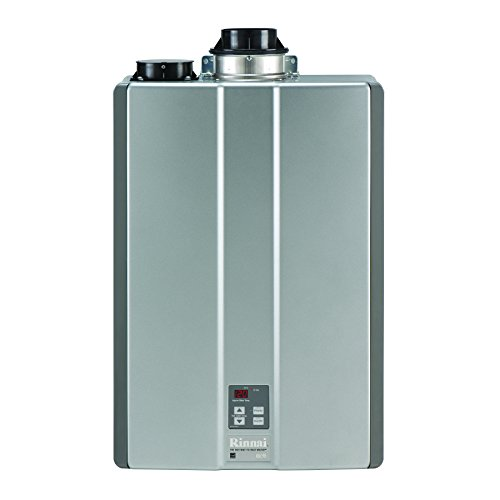 - Rinnai RUC98iN Ultra Series Natural Gas Tankless Water Heater, Twin Pipe