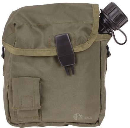5ive Star Gear GI Spec Canteen Cover (2 Pack), Olive Drab by 5ive Star Gear