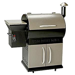 16. YOYO Deluxe Wood Pellet Grill Smoker BBQ 22K