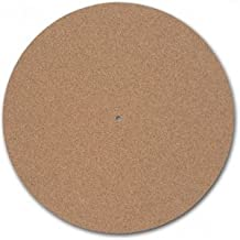 """(1) Turntable Toys TC-3 Cork Turntable Mat (3/16"""") Thick"""