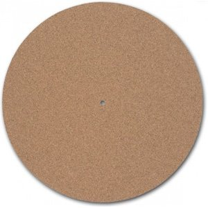 Turntable Toys TC-8 Cork Audiophile Turntable Mat 1/8-Inch thick - 1 Platter