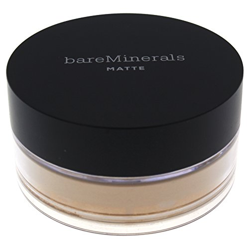 bareMinerals Matte SPF 15 Golden Fair (W10) Foundation for Women, 0.21 Ounce ()