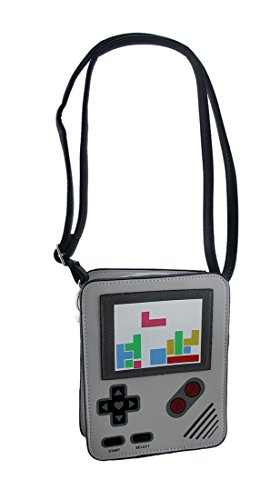 Cool 8 Bit Video Game Device Small Cross Body Purse