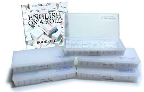 English on a Roll - English Grammar Teaching System - Classroom Set: 5 Game Cube Sets and Book 1 Manual (Parts Of Speech Worksheets For Esl Students)