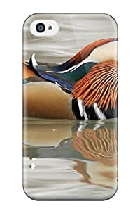 For Iphone 4/4s Tpu Phone Case Cover(bird)