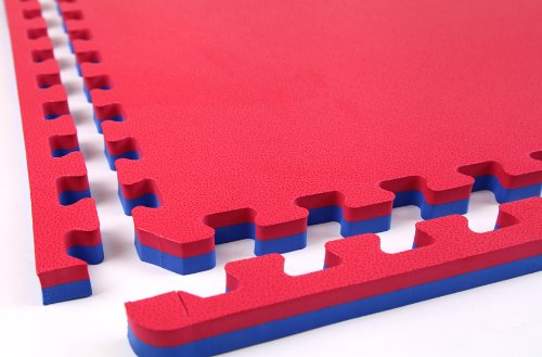 Incstores MMA Interlocking Mats, Blue/Red by Incstores