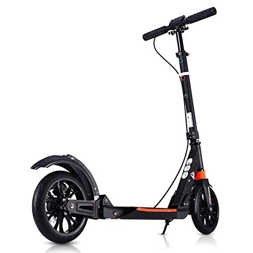 LXJYMX Scooter, Foldable, Recreational, Youth Non-Electric Hand and Foot Double Brake Widened Big Wheel from LXJYMX