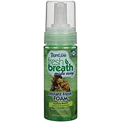Dog Dental Foaming Oral Health Spray For Pets Fresh Breath & Clean Teeth 4.5 oz