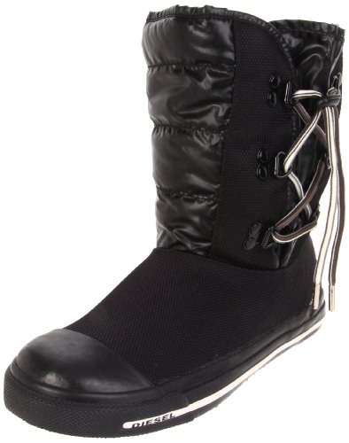 Price comparison product image Diesel Expo Boot,Dark Black,21 EU (5 N US Toddler)
