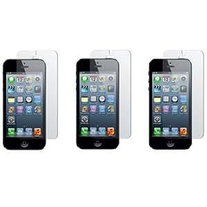 3 x protector de pantalla para Protector de pantalla transparente Apple iPhone 4/4S