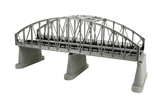 MTH 40-1107 O 2-Track Silver Steel Arch Bridge