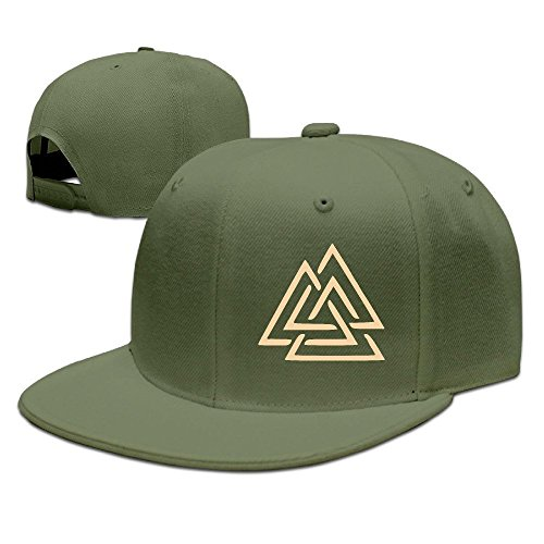 Runy Custom Valknut Adjustable Baseball Hat & Cap - Tory Symbol Burch