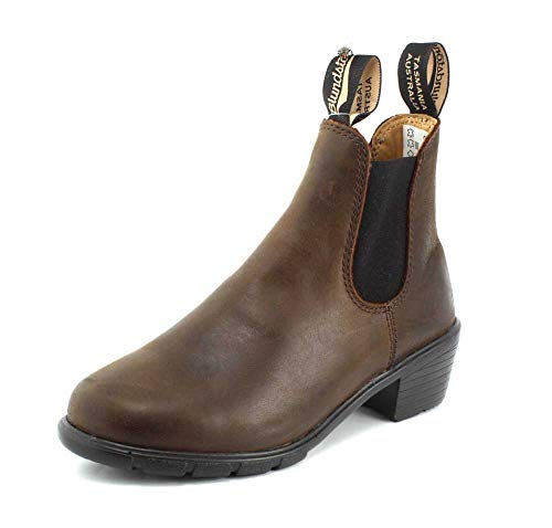 Con Stivali Pelle Donna Di Blundstone Brown 1673 Women's 5 Antique Marrone Tacco 37 xq8wqYOI