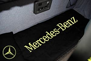 Mercedes lorry truck gold black bed sheet bedding cover for Mercedes benz accessories amazon
