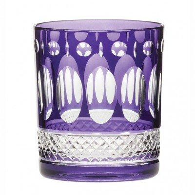 Royal Scot Belgravia amatista púrpura grandes vasos–Set de 2