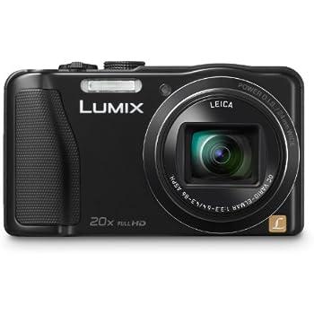 Panasonic Lumix DMC-ZS25 16.1 MP Compact Digital Camera with 20x Intelligent Zoom (Black) (OLD MODEL)