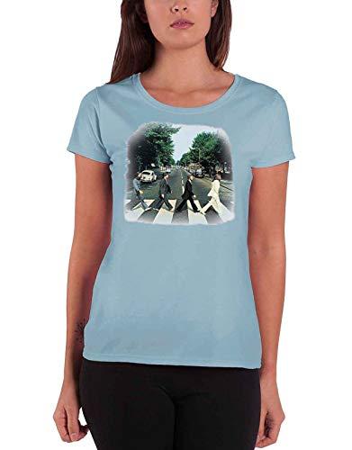 Medium The Beatles Abbey Road Ladies Premium T-shirt.