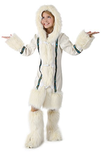 Princess Paradise Malia The Eskimo Costume, Multicolor, Tween 10/12