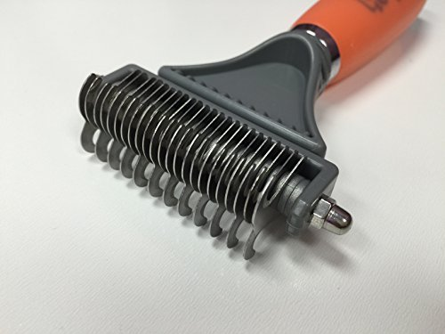 GoPets Dematting Comb with 2 Sided Professional...