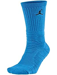 Nike Air Jordan Ultimate Flight Crew Socks SX5250 432 Blue White DRI FIT