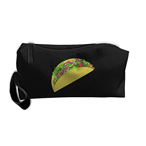 Taco Makeup Bag Zipper Organizer Case Bag Cosmetic Bag Penci