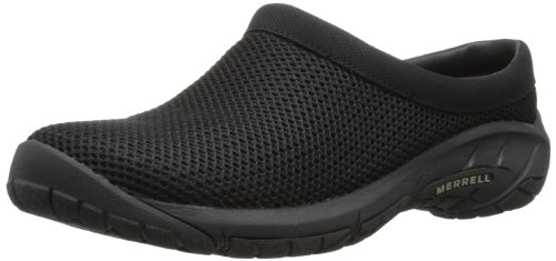 Merrell Women's Encore Breeze 3 Slip-On Shoe,Black,9 M US (Merrell Fur Clog)