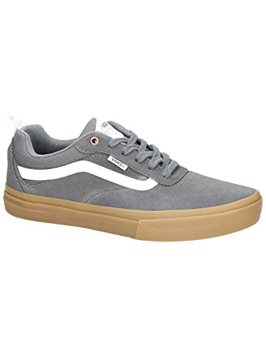 0544593c3b33 Vans Mens Kyle Walker Pro Skateboarding Shoes Pewter Light Gum VN0A2XSGKT9  (9 D US