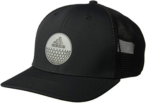 adidas Golf Globe Trucker Hat, Black/One Size