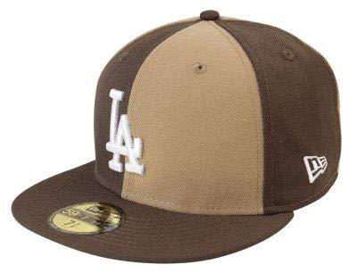 BONE 5950 LOS ANGELES DODGERS MLB ABA RETA MARROM NEW ERA  Amazon ... b267d38ec14