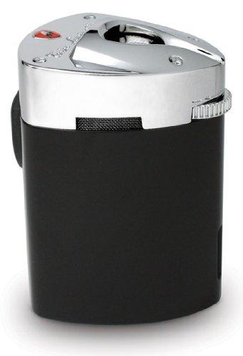 Tonino Lamborghini Mugello Black Triple Torch Flame Table Lighter (Table Triple Flame)