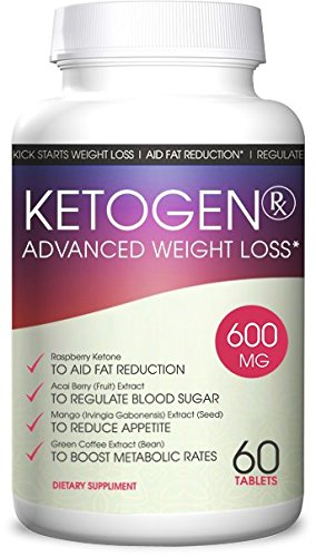 Ketogen RX Keto Diet - Weight Loss Advanced - Burn Fat Not Carbs - Keto Supplement for Natural Weight Loss - 30 Day Supply by Ketogen RX