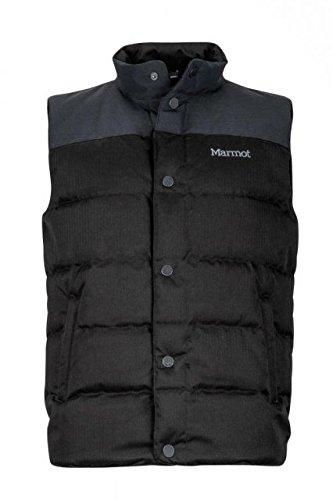 Marmot mens Fordham Vest 71830-001_XL - Black