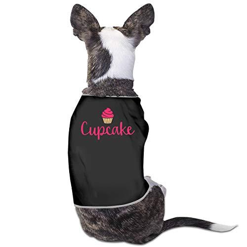Nicokee Puppy Dogs Shirts Costume Cupcake Pets Clothing Warm Vest T-Shirt M