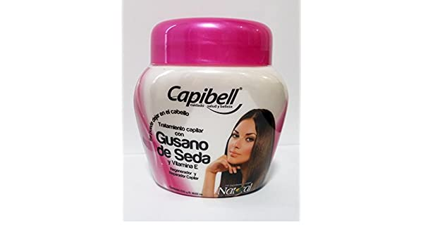 Amazon.com : Capibell Tratamiento Capilar con Gusano De Seda Silkworm Hair Treatment 530g 18.02 fl Oz : Beauty