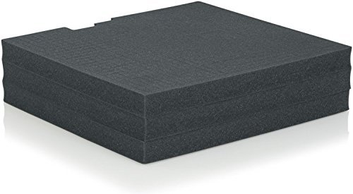 Gator Cases GRW-DRWFOAM-3 Rackworks Replacement Layered Foam for Rack Drawer 3U Insert by Gator