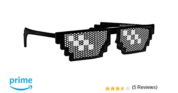 Gafas Deal with it! Gafa Youtuber/Meme/Gamer/Tugh Life/Pixel Producto exclusivo Geekinvader! Geek with it! …