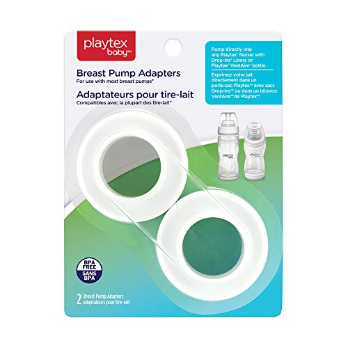 Playtex Baby Breast Pump Adapters, 2 Count