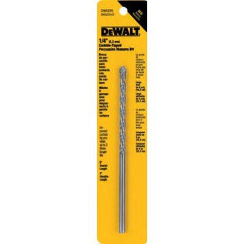 DEWALT DW5225 1/4-Inch by 6-Inch Carbide Hammer Drill Bit